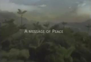 A Message of Peace - A Sukkot Presentation